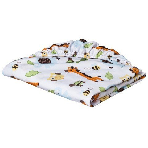 Circo Fitted Crib Sheet - Jungle Stack - 1