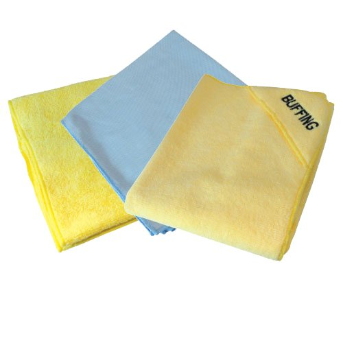 Silverline 250276 3 Pack Microfibre Cloths
