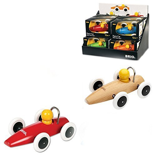 BRIO Classic Wooden 2-PC Car Set 30077 - 1