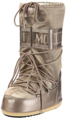 Moon Boot, Moon Boot Glance, Stivali, Unisex- adulto, Platino 001, 35/38