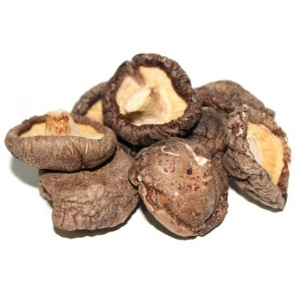 Dried Whole Shi-Itake Mushroms - 4 Oz.