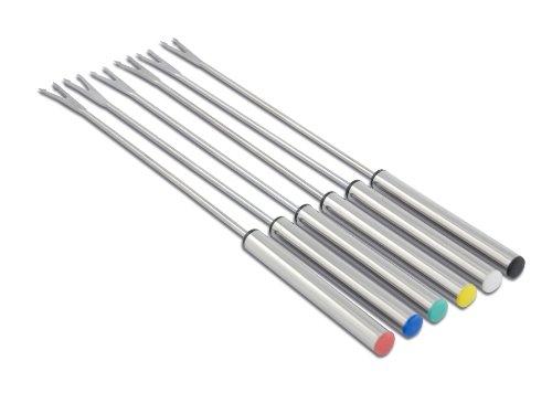 Cuisinox FON-6STS Elite Fondue Forks, Stainless Steel