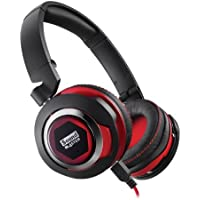 Creative Sound Blaster EVO On-Ear USB Wired Headphones (Black/Red)