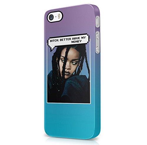 Rihanna-Dialogue-Bubble-Bitch-Better-Have-My-Money-iPhone-5-iPhone-5s-Hard-Plastic-Case-Cover
