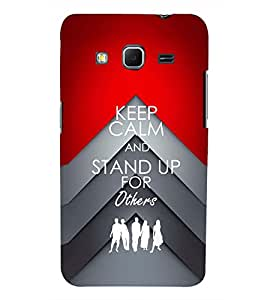 PRINTSWAG QUOTE Designer Back Cover Case for SAMSUNG GALAXY CORE PRIME G360