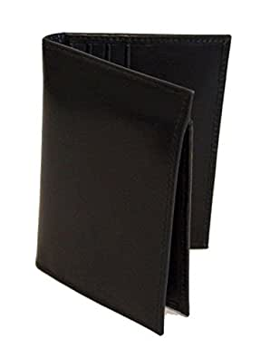 "Genuine Leather Men Bifold Wallet ""L"" shape - RARE"