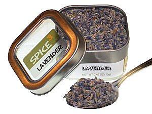 Lavender Tin