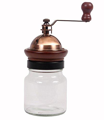 Matte Copper Adjustable Manual Coffee Grinder