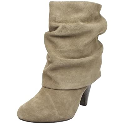 Steve Madden Women's Carlsen Ankle Boot,Taupe Suede,11 US