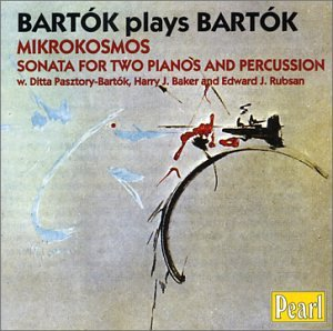 Bartk - Mikrocosmos Sonata For Two Pianos And Percussion from Pearl