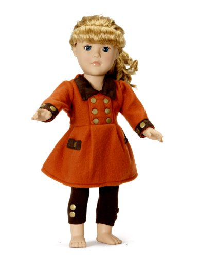"""Fits American Girl Dolls 18"""" Town Coat Outfit - 18 Inch Doll Clothes/Clothing front-228499"""