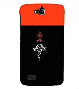 Printdhaba Quote D-5745 Back Case Cover For Huawei Honor Holly