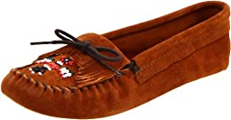 Minnetonka Women\'s Thunderbird Softsole Moccasin,Brown,9.5 M US