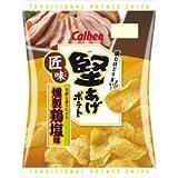 カルビー 堅あげポテト匠味(たくみ)燻製鶏塩味