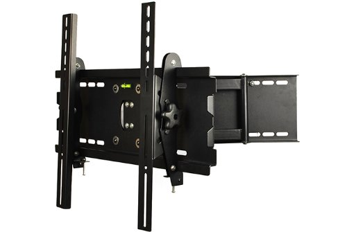 "Masione Brand New 23-42"" Articulating Cantilever Flat Panel Tv Wall Mount Bracket With Full Motion Swing Out Tilt & Swivel Articulating Arm For Flat Screen Flat Panel Lcd Led Plasma Tv"
