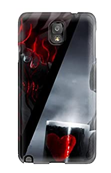 buy Tpu Case Cover For Galaxy Note 3 Strong Protect Case - Romantically Apocalyptic Design