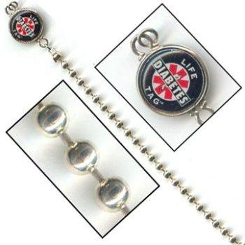 Sterling Silver Bead Medical ID Bracelet