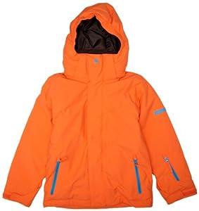 Quiksilver Boy's NEXT MISSION PLAIN YOUTH JKT-Snow Jackets - Orange, 16 Years