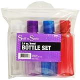 Soft'n Style Travel Bottle Set, 3.4 Ounce