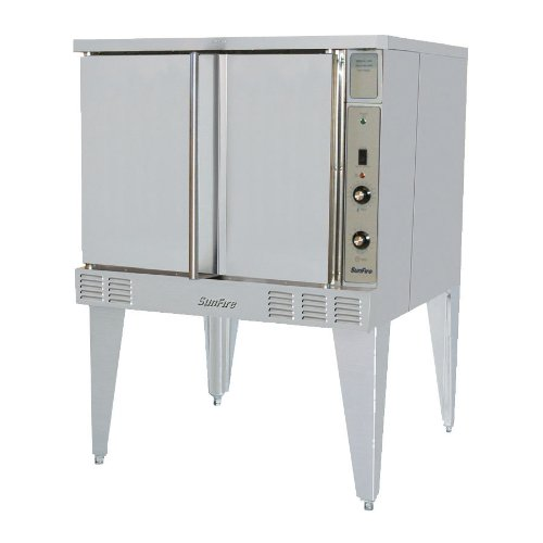 240 / 3 Phase Garland Sco-Es-10S Sunfire Electric Single Deck Convection Oven With 2 Speed Fan And I