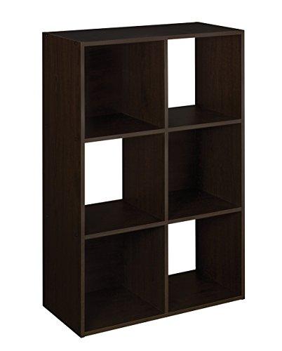 closetmaid-78815-cubeicals-6-cube-organizer-espresso