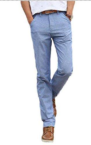 【WORLD STAGE】メンズ ビジネス カジュアル 春夏 スリム かっこいい 綿 ロング オリジナルエコバッグセット