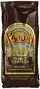 Kahlua Gourmet Ground Coffee, French Vanilla, 12 Ounce