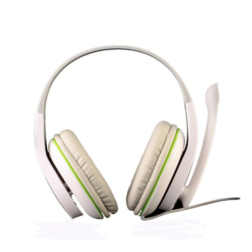 Andget Sades Sa-701 3.5Mm Stereo Headphone Gaming Headset With Microphone 40Mm Driver White