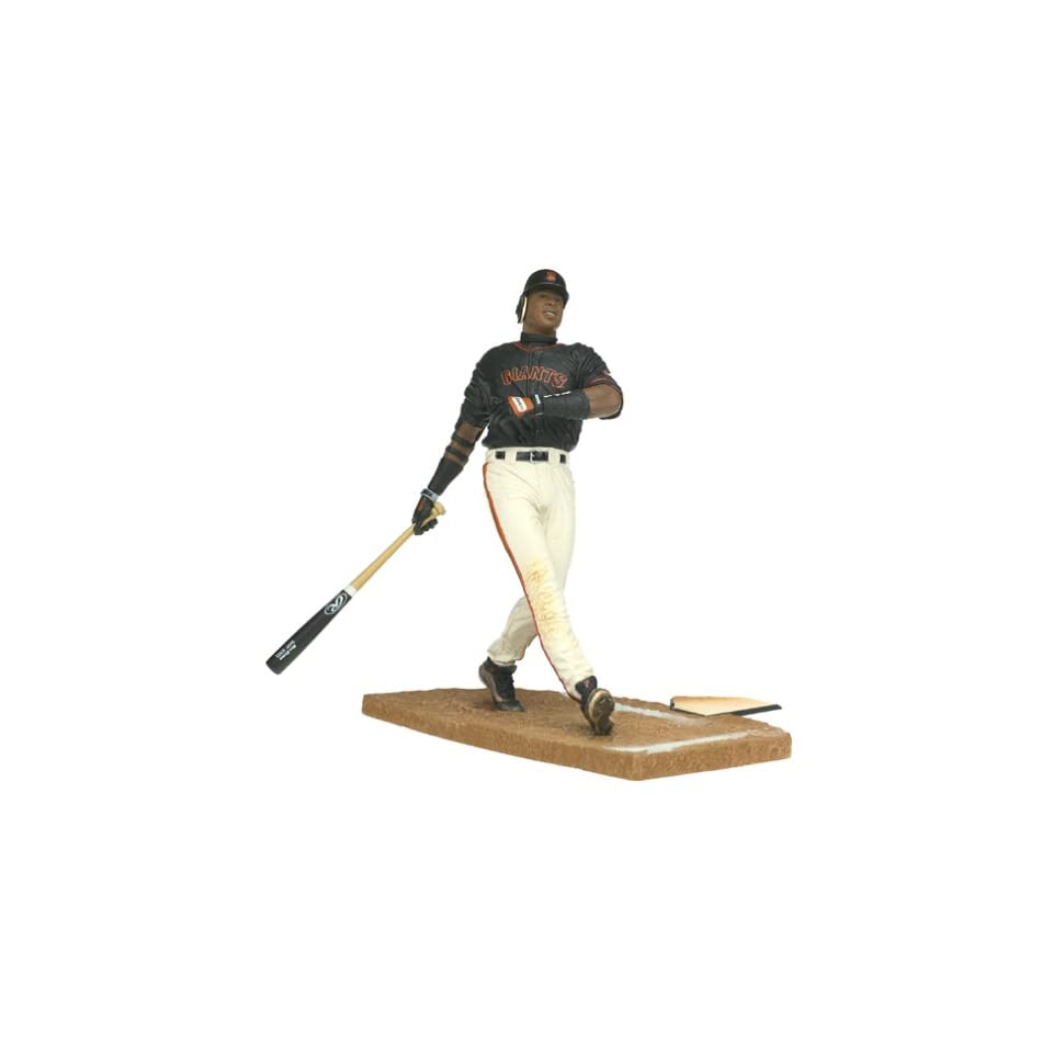 Barry Bonds San Francisco Giants Black Jersey McFarlane MLB Series 2 Action Figure