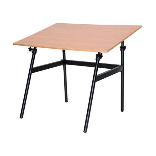 Folding Drafting Table front-1000945