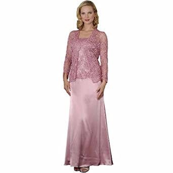 Mother of Bride Groom Evening Dress by Sean Collection (7317) 6, Rose