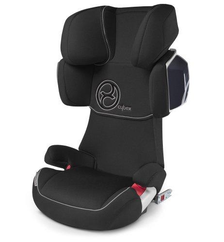Cybex 513117015 Solution X2-Fix Autositz, Classic-black