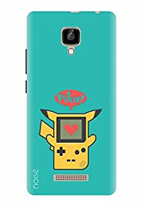 Noise Designer Printed Case / Cover for Lava A48 / Animated Cartoons / Pika Game Design