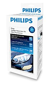 Philips HRK00XM Headlight Restoration Kit with UV Protection from Philips