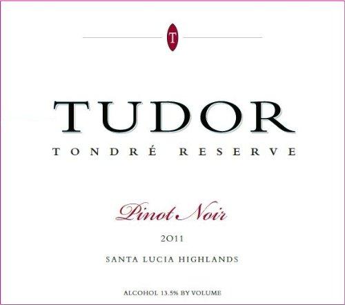 2011 Tudor Wines Tondre Reserve Santa Lucia Highland Pinot Noir 750 Ml