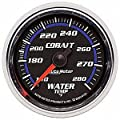 Auto Meter 6131 Cobalt Mechanical Water Temperature Gauge