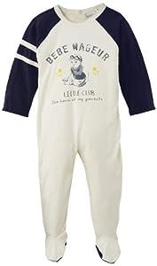 3 Pommes Dors Bien - Pijama de una pieza para bebé