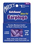Mack's SafeSound Slim Fit Foam Earplugs - 10 pair-20, count, 10 pair
