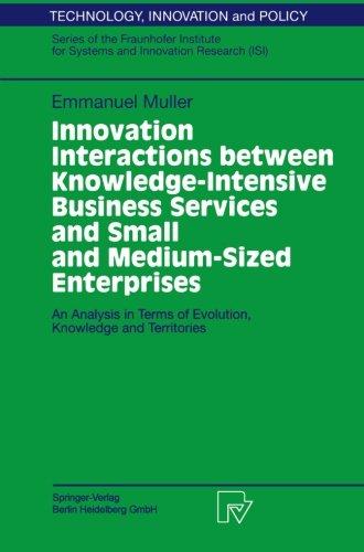 Innovation Interactions Between Knowledge-Intensive Business Services And Small And Medium-Sized Enterprises: An Analysi