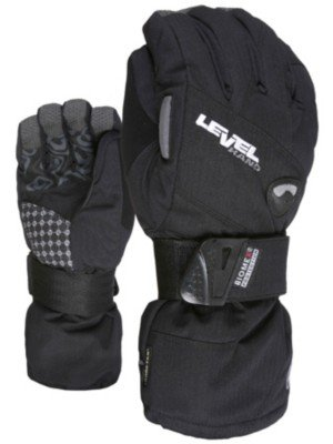 Level Women's Half Pipe GoreTex Gloves Black (7.5/SM) (Winter Gloves With Removable Tips compare prices)