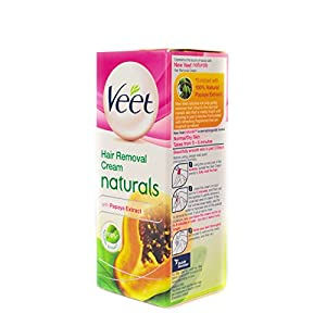 Veet Naturals Hair Removal Cream, Normal To Dry Skin