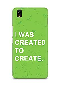 AMEZ i was created to create Back Cover For OnePlus X