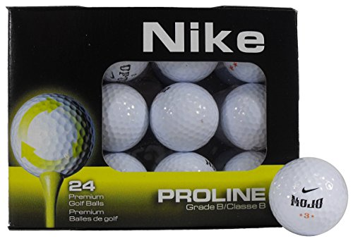 Nike B Grade Recycled Golf Balls (24-Pack), Assorted