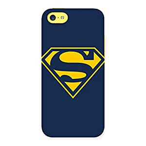 Stylish Premier Yellow Day Multicolor Back Case Cover for iPhone 5C