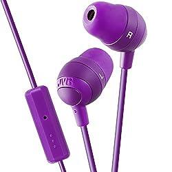 JVC HA-FR37-V Marshmallow Remote In-the-ear Headset-Violet