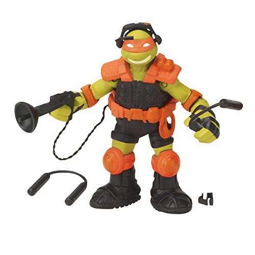 Teenage Mutant Ninja Turtles Stealth Tech Michelangelo Action Figure - 1