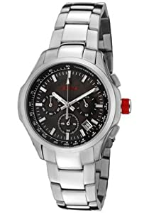 red line Women's RL-50006-102MOP Starter Chronograph Brown Mother-Of-Pearl Dial Stainless Steel Watch