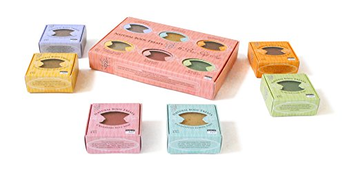NATURAL BODY TREATS Six 4.5oz Individual Bar Soap Gift Set - 1