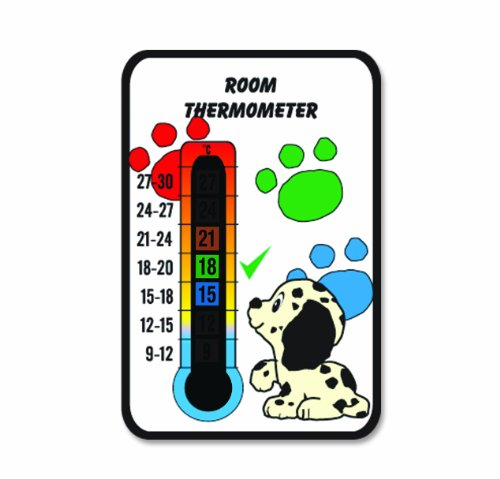 Baby Puppy Dog Nursery & Room Safety Temperature Thermometer