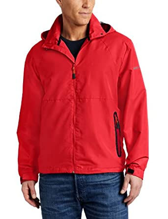 Hawke & Co Men's The Windblocker Jacket, Performance Red, M